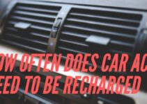 How often does car AC need to be recharged?