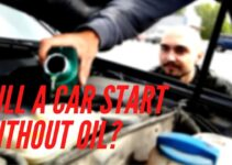 will a car start without oil