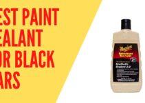 Best Paint Sealant For Black Cars