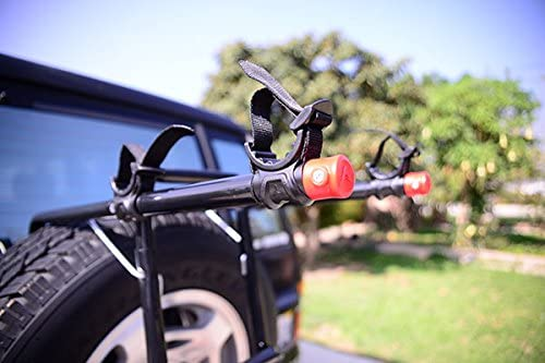 Allen Sports Deluxe Two-Bike Spare Tire Mounted Rack